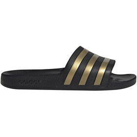 adidas Adilette Aqua Slides Heren, core black/gold metalic/core black